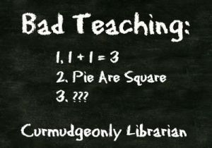 bad teaching