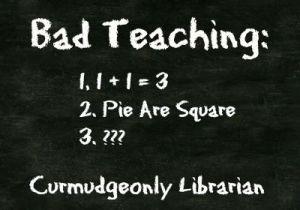 bad teaching
