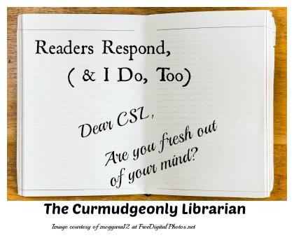 readers respond